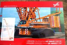 Herpa F-Spitze für Liebherr Raupenkran LR 1600/2, gelb  Neu OVP  1:87   307673