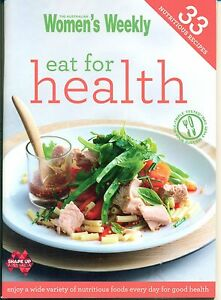 Women's Weekly - EAT for HEALTH - Mini Cookbook - NEW COND - FREE POST