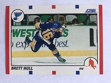 1990/91 Score Hockey Card #300 Brett Hull St Louis Blues HOF NM/MT