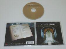 E NOMINE/DAS TESTAMENT(ZEITGEIST 543 382-2) CD ALBUM