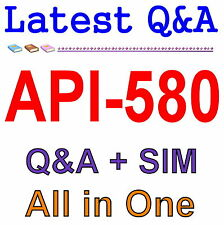 API Risk Based Inspection Professional API-580 Exam Q&A PDF+SIM