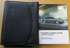 BMW serie 4 Coupé manual Owners Manual Cartera 2013-2016 Pack 30