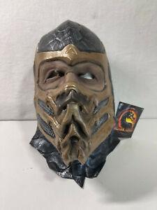 Brand New Mortal Kombat Scorpion WB Mask Rubies Full Size Adult