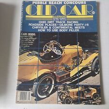 Old Car Illustrated Magazine Gilmore Party  #6 January 1978 060117nonrh2