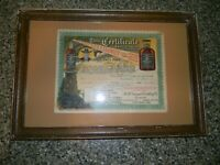 Old R B Grainger Whiskey Pre Prohibition Coupon Rare