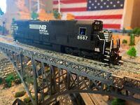Bachmann Spectrum HO Norfolk Southern GE Dash 8-40C diesel DC Power locomotive !