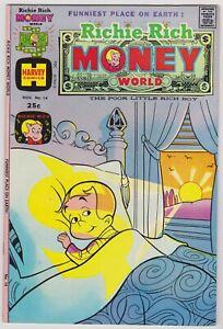 Richie Rich Money World #14 - Harvey File Copy Comic! 1974 NM-