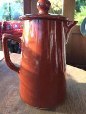 Lovatts Langley Denby brown 1.5 pint coffee pot