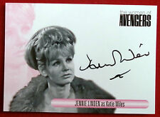 The Women Of The Avengers - JENNIE LINDEN as Katie Miles - Autograph Card WAJL