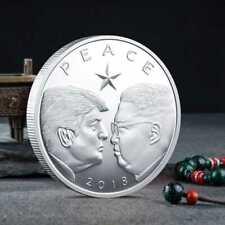 2018 Donald Trump & Kim Jong Un Peace Summit Denuclearization Commemorative Coin