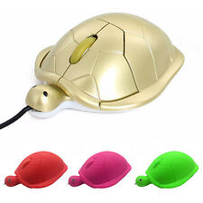 Mini 800dpi Cute Turtle 3D USB Optical Mouse Wired Mice For Laptop Macbook
