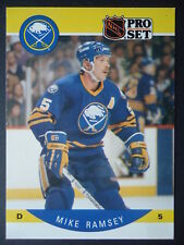 NHL 28 Mike Ramsey Buffalo Sabres Pro Set 1990/91