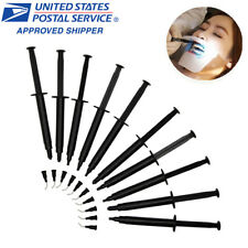 3ml FDA Gingival Gum Protector Syringe Before Teeth Whitening Gel Black 10 Piece