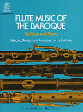 Flute Music Of The Baroque Learn to Play Classical Sheet Music Book QUANTZ BACH