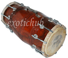 BUY DHOLAK DRUMS~SHESHAM WOOD~BOLT TUNED~DHOLKI~USE IN KIRTAN~HAND MADE INDIAN~