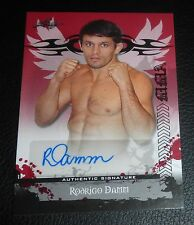 Rodrigo Damm Signed 2010 Leaf MMA Red Autograph Auto #AU-RD1 UFC 154 147 Fuel TV