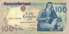 PORTUGAL 100 ESCUDOS 1981 état voir scan 823