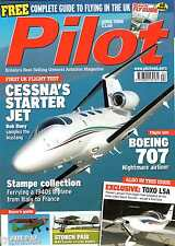 Pilot 2008 Apr Cessna Mustang,Boeing 707,Piper Colt,Storch,Toxo,Stampe