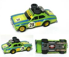 1976-81 Aurora AFX G-PLUS G+ #28 Shell Rallye Ford Escort Slot Car #1737 A++!