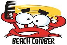 Summer Beach Wear Holiday Fun Donald Trump The Crab Beach Comber Ladies T Shirt