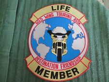 GOLD WING TOURING ASSOCIATION--Motorcycle Life Member PATCH