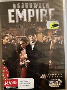 BOARDWALK EMPIRE - Complete Second Season 5 x DVD 2011 Two Series 2 New 0621