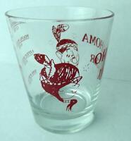 Vintage Oklahoma Jigger Highball Glass 1960s RARE