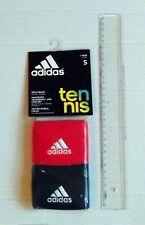 ADIDAS Schweissband blau&rot neu OneSize Armband Frottee Schweissbänder Tennis