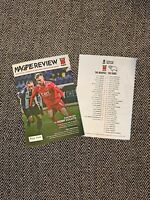 Chorley v Derby FA CUP 3RD ROUND Programme 9/1/2021! IMMEDIATE DISPATCH!