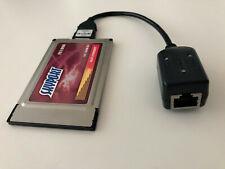 PCMCIA Fast Ethernet 16Bit PC Card Netzwerkkarte 10/100Mbit