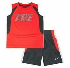 Nike Air Outfit Set Shirt & Shorts Basketball Boys Set Size 4