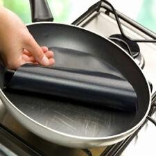 feuille de cuisson réutilisable x 2 -téflon-feuille anti-adhésive cuisine-poêle