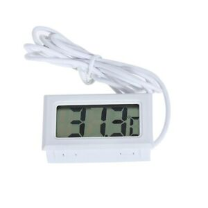 Thermometer Electronic Water Temp Gauge Top Mini Digital Thermometer LCD Display