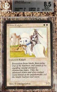 Vintage Magic | MTG BGS 8.5 Alpha White Knight, w/9.5+9, NO RESERVE!!!