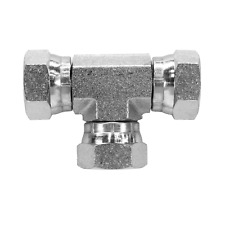 1603 06 06 06 Hydraulic Fitting 38 Female Pipe Swivel Tee