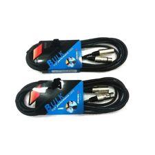 PROEL BULK250LU10 coppia cavi professionali bilanciati XLR XLR (2 unità) 10 mt