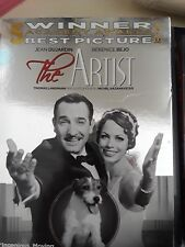 The Artist (DVD, 2012) NEAR MINT  Jean Dujardin  John Goodman  w/ slipcover