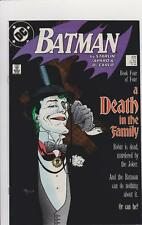 BATMAN #427 1989- A DEATH IN THE FAMILY- BOOK FOUR-  UNREAD COPY