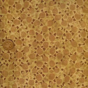 Timeless Treasures Kent C1513 Tan 100% Cotton Fat Quarter