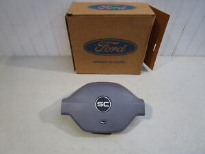 NOS 1993 FORD THUNDERBIRD SUPER COUPE GREY HORN PAD, F3SZ-13A805-C, NEW IN BOX