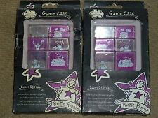 NINTENDO DS LITE 12 X cartuccia di giochi casi Purple Ronnie carrello Nuovo di Zecca LOTTO caso