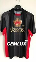 VERSACE  Embroidered Football  jersey Slim-Fit T-shirt Size XL RRP £560