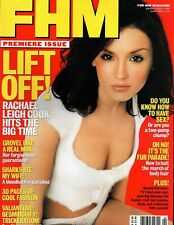 Lot of 5 March April 2000 FHM #1 Premiere issue Rachael Leigh Cook sexy Unopened