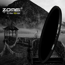 Zomei 52mm IR 680nm+720nm+760nm+850nm+950nm Infrared Filter for Dilgital Camera