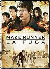 MAZE RUNNER - LA FUGA (DVD) TRATTO DALLA TRILOGIA DI ROMANZI DI JAMES DASHNER