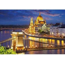 2000 pièces puzzle, Budapest view at Dusk, Castorland 200405