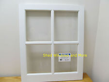 """Barn Sash Window PVC 24"""" x 29""""  Sheds Garages New White Traditional Style"""