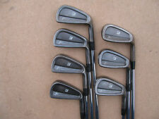 LIMITED EDITION BLACK BRIDGESTONE J36 IRONS PROJECT X 6.0 STIFF 4-PW IRON SET RH