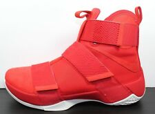 Nike $140 LEBRON Soldier 10 X SFG University Red Shoes (911306 600) - Size 11