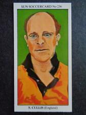 LE SOLEIL soccercards 1978-79 - Stan Cullis - ANGLETERRE #236